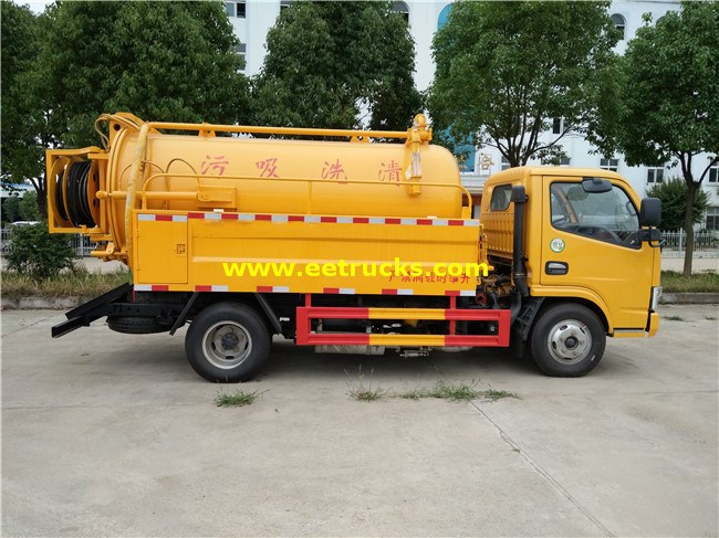 130HP Sewer Cleaning Trucks