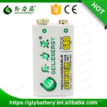 Geilienergy ni-mh 9V 200mah Paquetes de baterías recargables