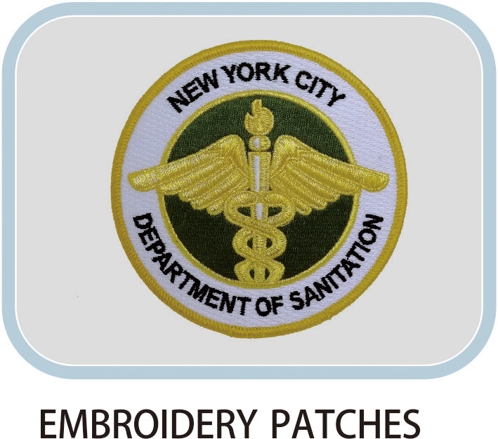 Patch Embroidery Label
