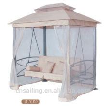 Популярный Открытый Все Погода 4-местный сад с качающимися креслами