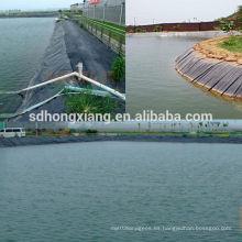 Geomembrana de hoyuelo HDPE para drenaje