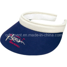 Confortable Sweatband Long Bill Clip-on Custom Leisure Sun Visor (TRV015)