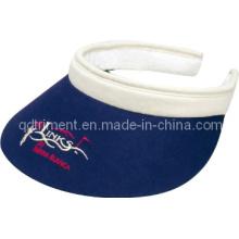 Confortável Sweatband Long Bill clip-on personalizado lazer Sun Visor (TRV015)