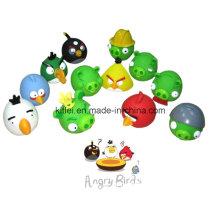 Hochwertige bunte Mini Soft Stress Vögel Umweltfreundliche ICTI Ball Spielzeug