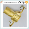 Camlock Brass type C , cam lock fittings, quick coupling China manufacture