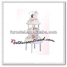 V366 3 Яруса Стенд Пластиковый Торт