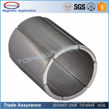 Strong industrial high quality ndfeb n45 strong arc magnet for motorcycle