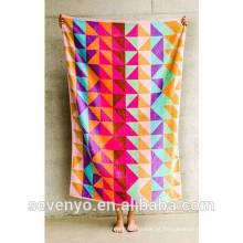 100% algodão Pop Velour design toalha de banho folha de banho BtT-118