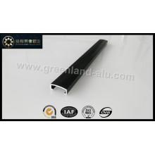 Glt148 Aluminio Listello Trim Trim Pared Decorativa Tira 20mm Negro
