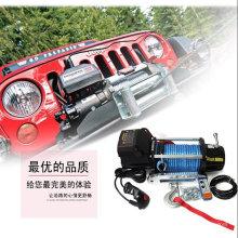 CE aprobado 12V / 24V 13000lbs Auto Winch