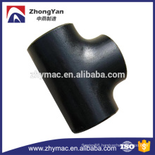 A234 wpb carbon steel pipe fittings, pipe branch tee fitting