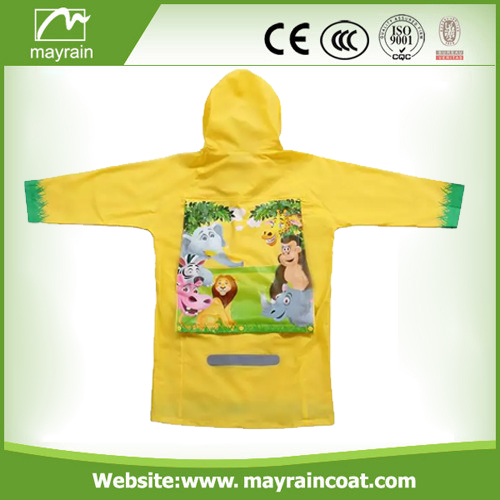 Hot Selling Polyester Children Raincoat