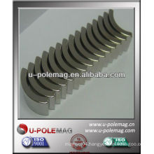 neodymium arc magnet with high performance