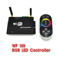 WF100 rgb wifi led controller with remote controller