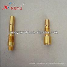 Soporte de la punta de contacto / sujetador de la punta de contacto del soplete de soldadura / piezas de la máquina de soldar