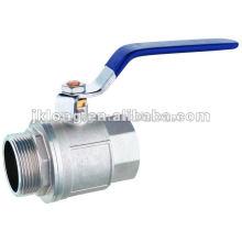 Brass ball valve F/M