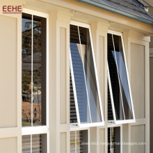 American Awning Laminated windows With Grill Design