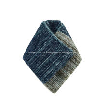 Lenço de malha feminino de inverno para embrulhar lenço macio e quente