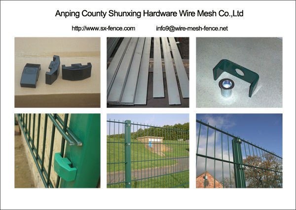Accessories of Double Wire Mesh Fence