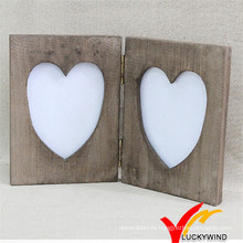 Diseño de libro Mesa de escritorio Mesa de madera Vintage Love Frame