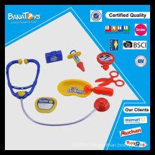Jouet éducatif en plastique pour enfants avec kit médical en stéthoscope