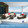 Patio outdoor furniture rattan garden sofa luxury sofa