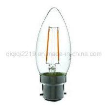 1.6W B22 C35 220V Lâmpada de Filamento LED