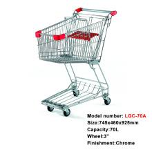 スーパーマーケットメタルショッピングカートトロリー