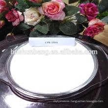 White powder, non-toxic tasteless Chlorinated polyethylene (CPE)