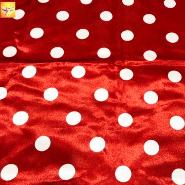 100% Polyester 100d Satin bedrucktes Gewebe