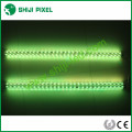 clear cover cylinder amusement led pixel digital strip bar light