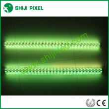 clear cover cylinder amusement led pixel digital strip bar light