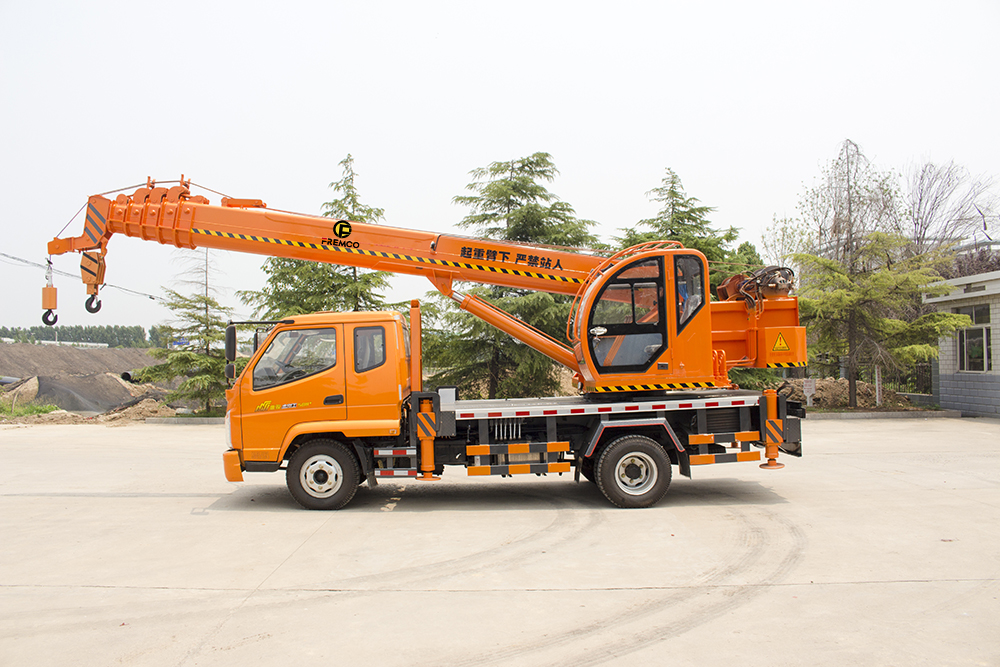Mobile Truck Crane Youtube