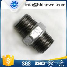 INQO brand galvanized nipple M.I. pipe fittings
