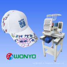 Bordado informativo de 15 colores solo jefe para el casquillo / camiseta / máquina plana