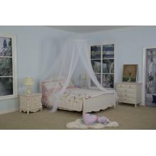 Cama con mosquitera de un solo color para cama doble