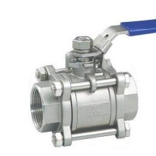3 PC Ball Valve, Flange Ball Valve