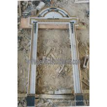 Stein Marmor Granit Arch Tür Surround für Doorway Archway (DR042)