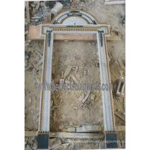 Arco de la puerta del arco del granito de mármol de la piedra para la entrada de la entrada (DR042)