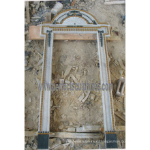 Камень мраморный гранитный арочный дверной проем для дверной арки (DR042)