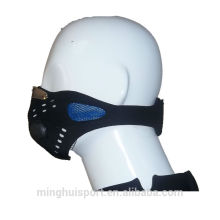 Motocross Sports Lycra Rubber Neoprene Máscara Protector Cara Nariz de Polvo
