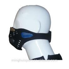 Nariz de borracha da cara do protetor da máscara do neopreno de Lycra dos esportes do motocross da poeira