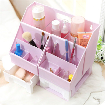 Hot Sale Desktop DIY Plastic Makeup Organizer