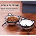 Cuencos de gato para mascotas criados en cerámica