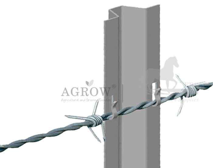 Snap-in Barbed wire fence