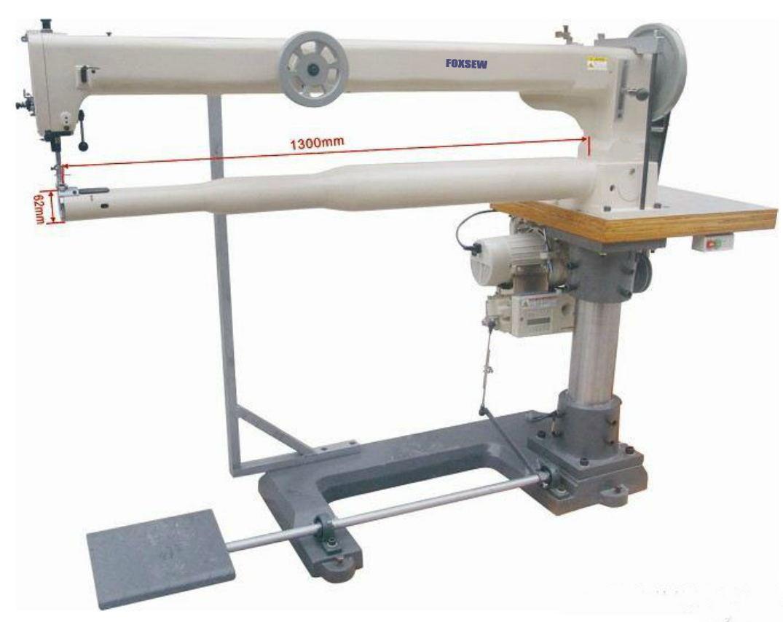 Long Arm Cylinder Bed Triple Feed Heavy Duty Lockstitch