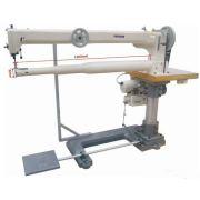 Machine à coudre d'alimentation triple de bras long superbe de lit de cylindre pour les sacs de golf et les sacs de pêche