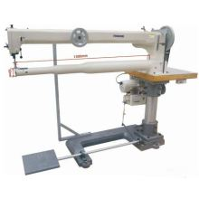 Cama de cilindro de braço longo Triple Feed Heavy Duty Lockstitch Machine
