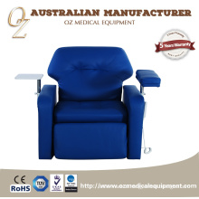Professional Blood Transfusion Reclining Chair Clinic Infusion Room Blood Donation Chair Australian Manufacturer US Standard