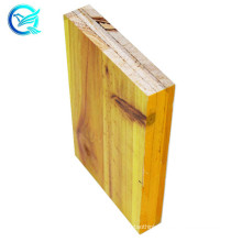 27mm 500*1970 3 ply yellow pine shuttering panel for export